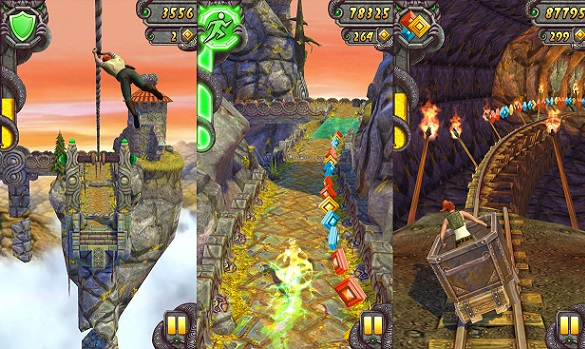 Temple Run Features