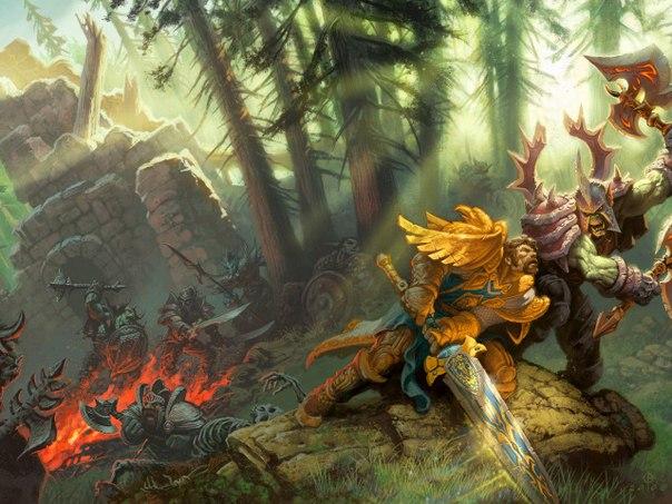 World of Warcraft battleground