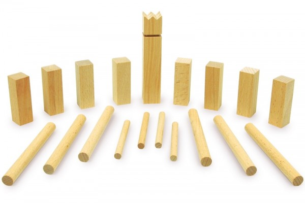 Kubb is a fairly easy